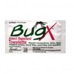 Bug X Insect Repellant Wipes Case of 50