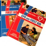 CPR and First Aid Book Combo