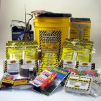 Honey Bucket Emergency DELUXE Kit 4 person