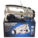 Dynamo LED Flashlight / Radio