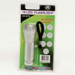 19 LED Metal Flashlight