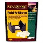 Portable Stove with 48 Fuel Tablets