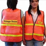 Safety Vest w/ Clear Insert